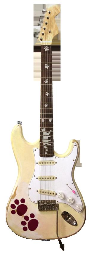 ルル所有 ネコレーションギター